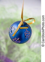 Christmas-tree decorations suspended ball