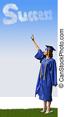 Reaching for Success - a graduate reaching for success in...