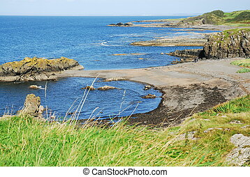 THE COAST OF SCOTLAND - ALONG THE AYRSHIRE COAST