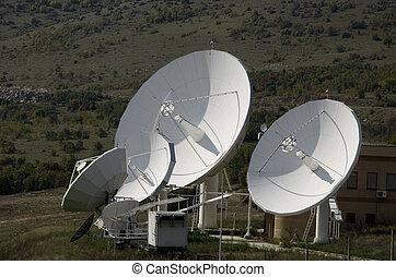 Antenna on the mountain