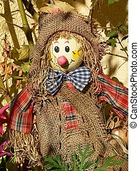 Scarecrow - A scarecrow to reject the evil spirits.