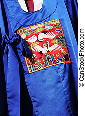 Traditional South Korean robes.