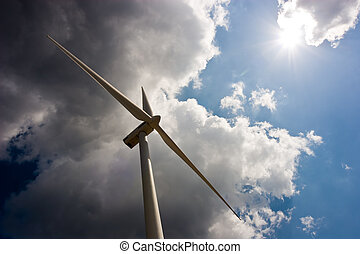 Wind Turbine Alternative energy for a brighter future