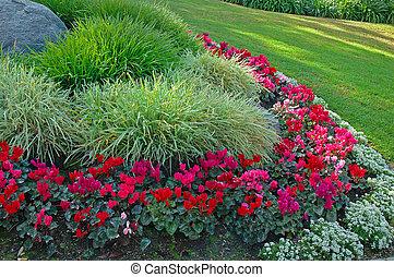 Garden - A flower garden