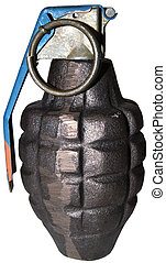 grenade - close-up on a grenade