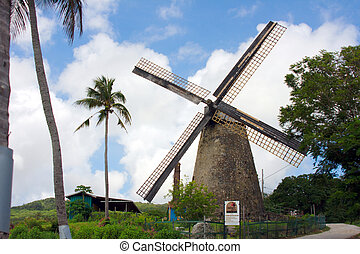 Morgan Lewis Mill St AndrewBarbados - the only intact and...