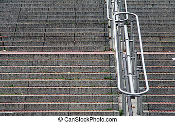 stairs, outdoor, cologne, nrw, germany