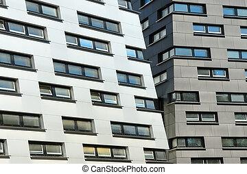 Moderne Fassaden no.1 - Modern Facades of an office building...