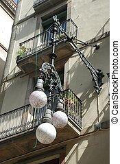 Street lamp, Barcelona - Spain
