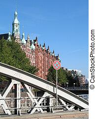 Historic building, Bei Sankt Annen, Hamburg, Germany.