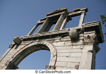 Hadrian\\\'s Arch