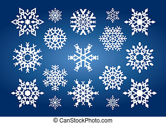 Snowflakes (illustration)