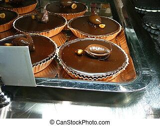 Dark Chocolate Tarts