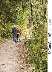 Dog Walking Path