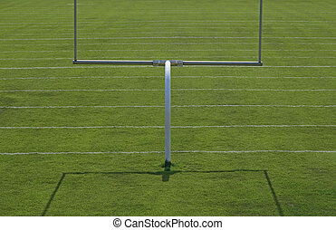 Football playing field - American football playing field...