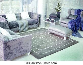 Interior - Designer lounge setting