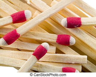 matches - close up on matches