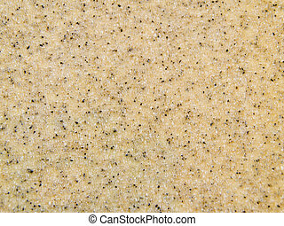 sand paper - close-up on sand paper