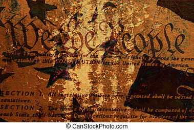 Grung Constitution - Grunge Style Background With...