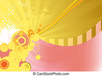 background - Circle background. Illustration of background...