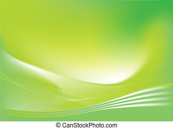abstract lines background: composition of curved lines -...