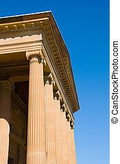 facade neo classical - Greek Classical style facade of Art...