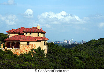 Home with an Austin view - A nice home with a downtown...