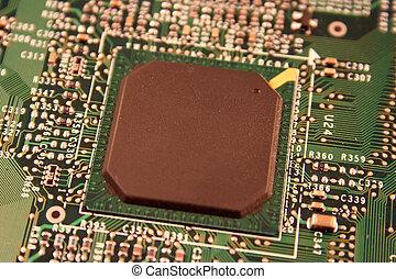 芯片, 電腦
