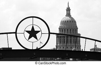 State Capitol Building in Downtown Austin, Texas - The Texas...