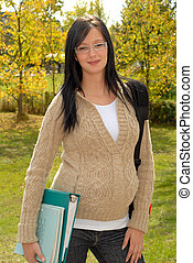 Beautiful Teen Girl - Beautiful Pregnant Teen School Girl...