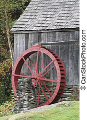 Water Wheel - Wheel of a Gristmill