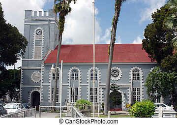 St Marys Church Barba - St Marys Church BridgetownBarbados...