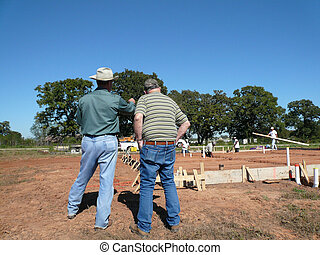 Home Builder with Client
