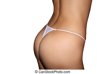 Perfect females buttocks - Perfect females buttocks in a...