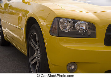 Yellow Front Quarter