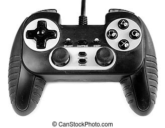 gamepad - The gamepad on a white background