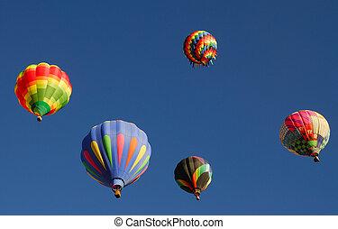 Hot Air Ballons - Images of Hot Air Ballons at a Balloon...