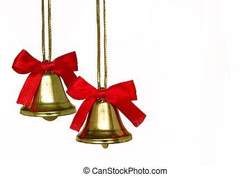 Christmas Bells Duo - A couple of Christmas bells