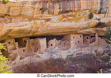 Mesa Verde - Ancient ruins of pre-historic Indian cultures...