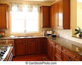 Bright Luxury Kitchen