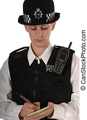 UK Police Women Writing