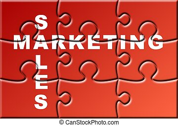 crossword puzzle - a crossword puzzle about marketing...