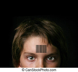 Socialized Healthcare - Child Branded With a UPS Bar Code:...
