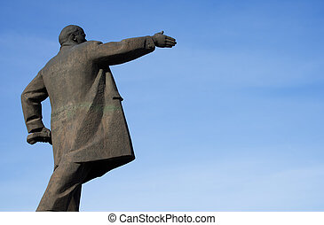 Monument for Lenin