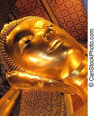 Statue Of Buddha - Statue Of Reclining Buddha