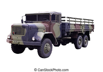 Military Truck MD Jupiter, machine-made in1960 Germany...