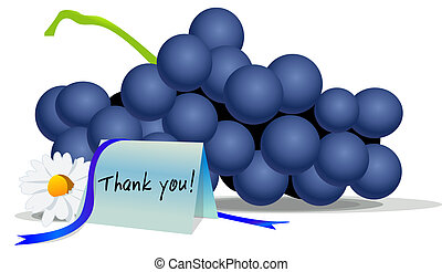 Thanks giving grapes - On this thanksgiving say thanks on a...