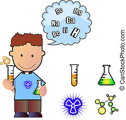 science experiment - laboratory person experimenting