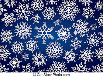 Snowflakes Background (illustration)