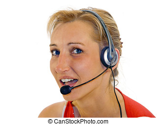 telephonist - call center